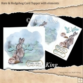 Hare and Hedgehog card
