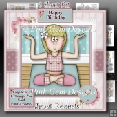 Yoga Class Rita 6 Page Kit Including Money Wallet
