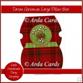 Tartan Christmas Large Pillow Box