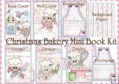 Christmas Bakery Recipe Book Kit