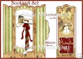 Season of Love Bookmark Set with Holder