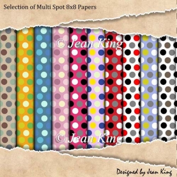 Selection of Multi Spot 8x8 Papers