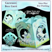 Little Princess Carousel Box Card