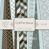 Coffee House 12 x 12 Paper Pack