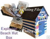 Beach Hut Explosion / Exploding Box with extras