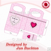 Valentine Heart Gift Bag & Tag