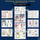 Bumper Kit of 10 Wedding Cards