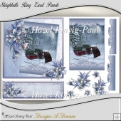 Sleighbells Ring Easel Panels/Toppers