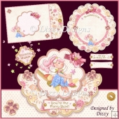You're the Fairy Best Scalloped OTT Card Kit