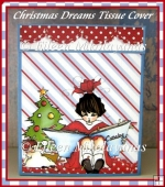 Christmas Dreams Kleenex Brand Tissue Box Cover