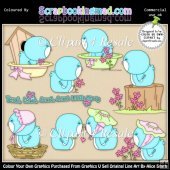 Sweet Tweets ClipArt Graphic Collection