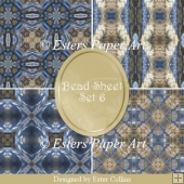 Printable Paper Bead Sheet Set 6