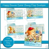 Happy Bunnies Easter Bunny Poop Envelopes