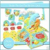 Under The Sea Pop Up Box Card