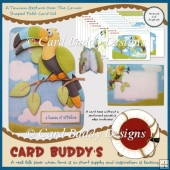 A Toucan Gesture Over The Corner Shaped Fold Card Kit