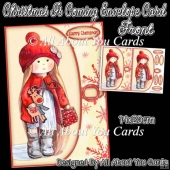 Christmas Is Coming Envelope Card Front