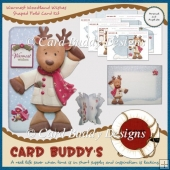 Warmest Woodland Wishes Shaped Fold Card Kit