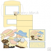 Puppy Love Kids 2 Easel Card Set