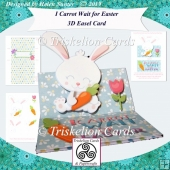 I Carrot Wait for Easter 3D Decoupage Easel Card