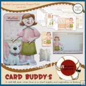 Perfect Companions Shaped Fold Card Kit