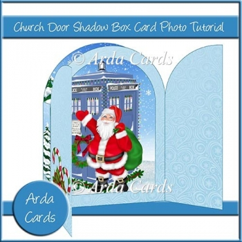 Church Door Shadow Box Card Photo Tutorial