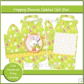 Hoppity Bunnies Gabled Gift Box
