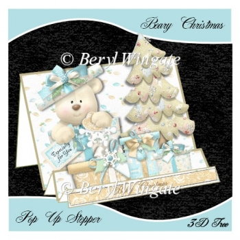 Beary Christmas Pop up Stepper