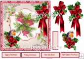 Christmas bells 7x7 card