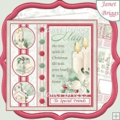 SPIRIT OF CHRISTMAS 7.5 Decoupage & Insert Mini Kit