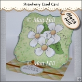 Strawberry Easel Card