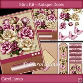Minikit - Antique Roses