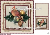 7.5 x 7.5 Card Topper & Gifttag Christmas 21
