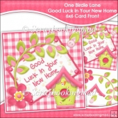 One Birdie Lane - Good Luck In Your New Home 6x6 Card Front