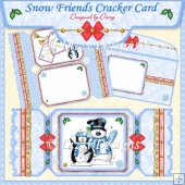 Snow Friends Cracker Card