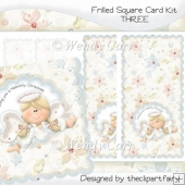 Frilled Square Card Kit 3(Retiring in August)