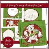 A Beary Christmas Shadow Box Card