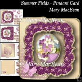 Summer Fields - Pendant Card