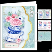Teacup Flowers Mini Kit 2