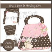 Grin & Bear It Handbag Card