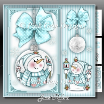 Chilly With Bird House Bauble Mini Kit
