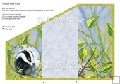 "Three Fold Water's Edge ""Nightwatchman"" Badger Card Sheet"