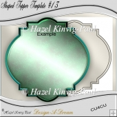 Shaped Topper Template #13