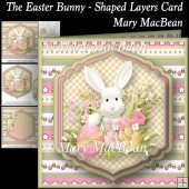 The Easter Bunny - Shaped Layers Card