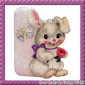 Oh So Cute Bunny Shaped Fold Card Kit