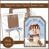 Ready Set Snow Pop Out Banner Card