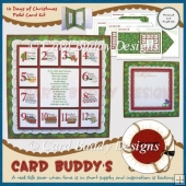 12 Days of Christmas Fold Card Kit