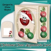 Christmas Cheer Asymmetric Card Kit