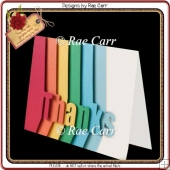 694 Thank You Card *MACHINE Formats*