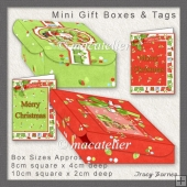 HoHoHo Mini Pizza Boxes
