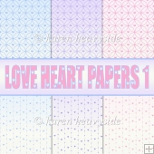 Love Heart Papers 1